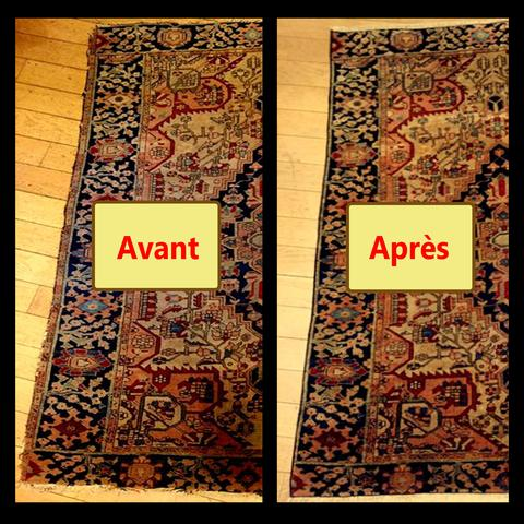 r paration de tapis paris tapis bouznah. Black Bedroom Furniture Sets. Home Design Ideas