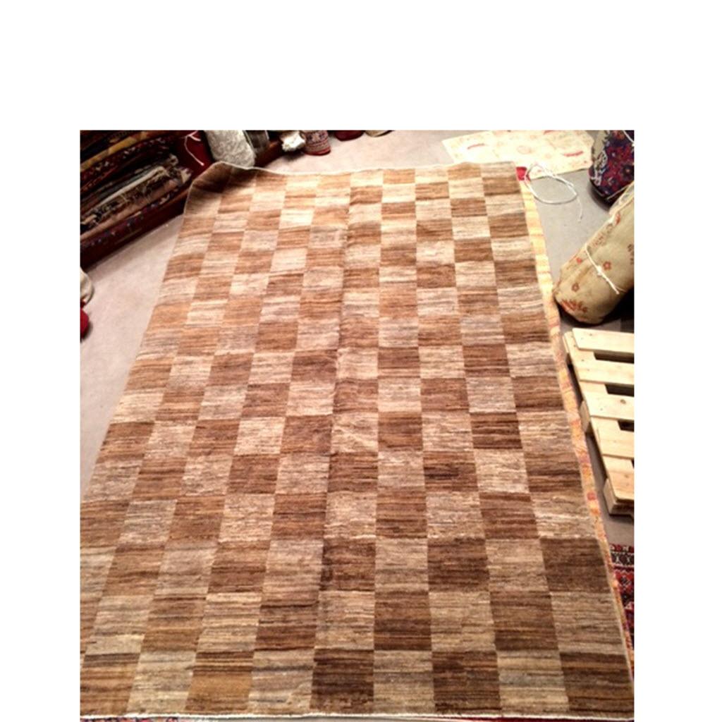 tapis grande taille moderne beige fonc - Tapis Grande Taille