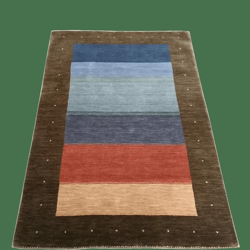 tapis moderne indien tapis bouznah. Black Bedroom Furniture Sets. Home Design Ideas
