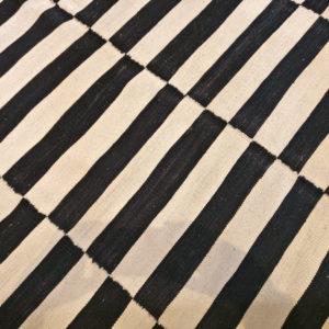 kilim noir et blanc