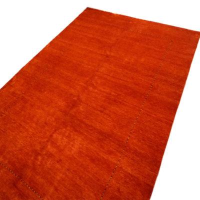 tapis indien moderne paris rouge