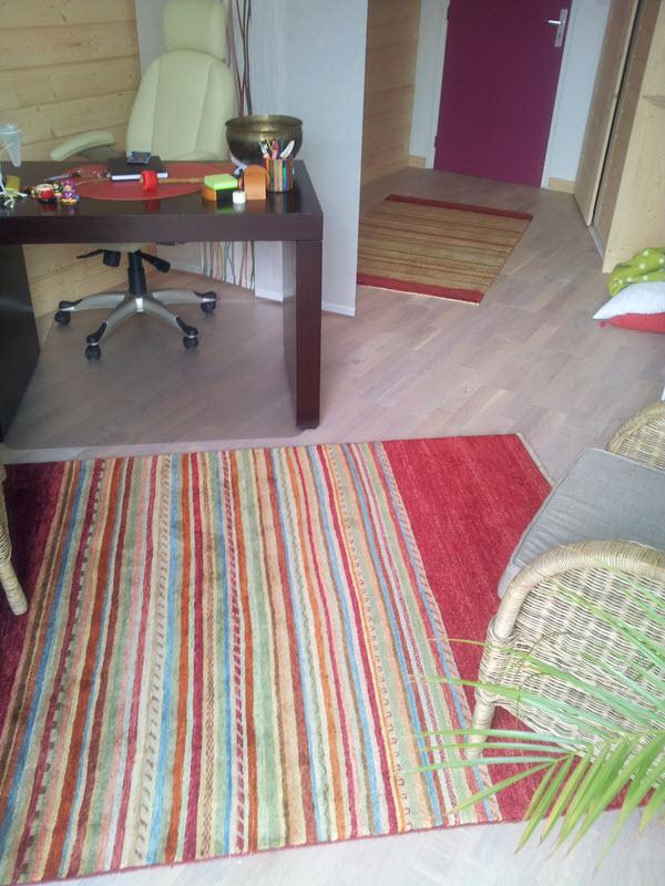 décoration interieure tapis moderne