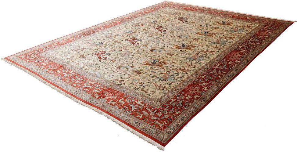 tapis ghoum motif chasse grande taille - Tapis Grande Taille