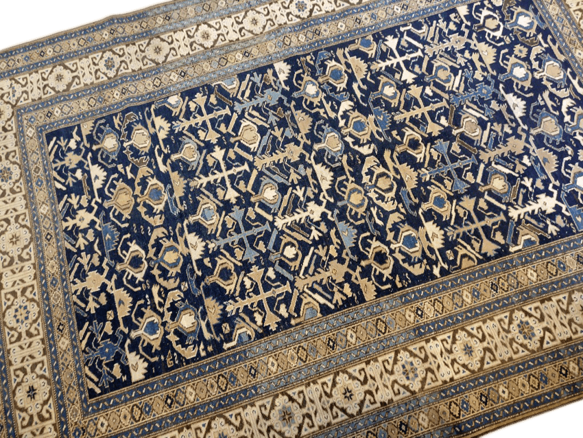 Restauration tapis caucasien paris
