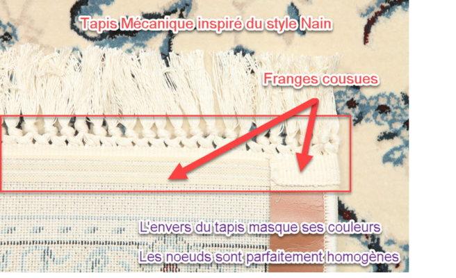 identifier tapis mecanique avec franges
