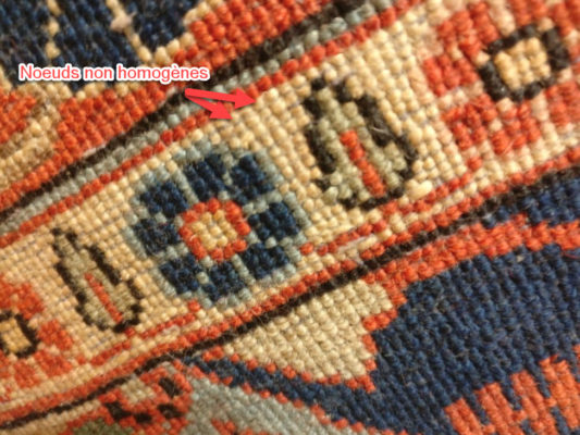 identifier un tapis persan