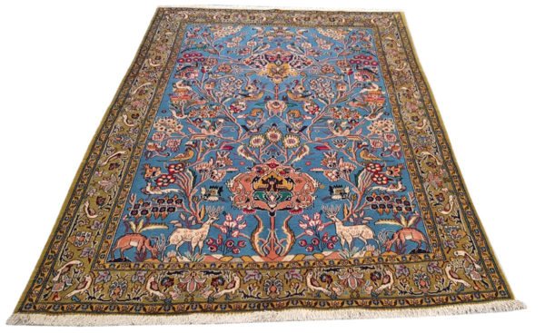 tapis iranien arbre de vie