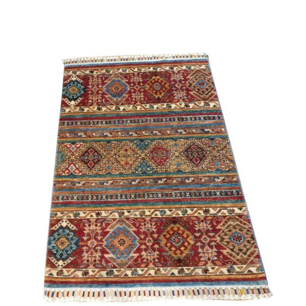tapis moderne afghan descente de lit