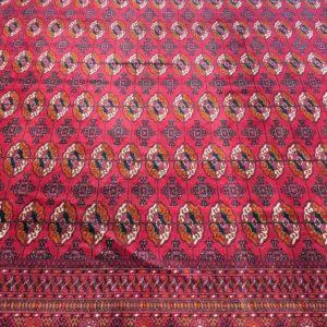 grand tapis classique boukhara rouge ouzbekistan