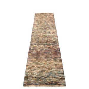 tapis de couloir moderne rayure tons foncés