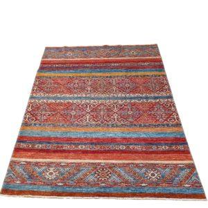 tapis khorjin afghan khorjin couleur patiné