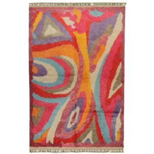 Tapis indien berbere tulu multicolor-min