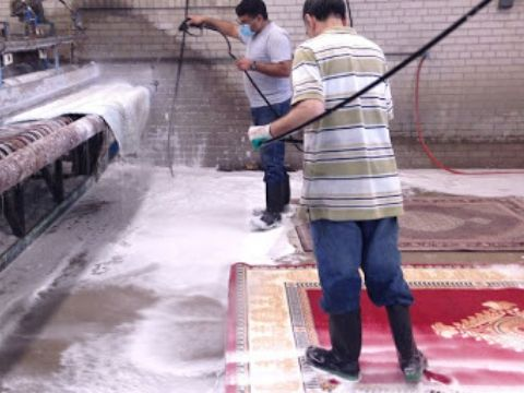 Atelier de nettoyage de tapis