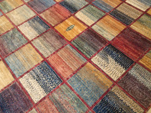 tapis afghan moderne zoom