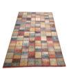tapis modcar afghan damier multicolor style gabbeh