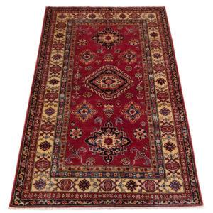 tapis kazak dozar bordure mutliple